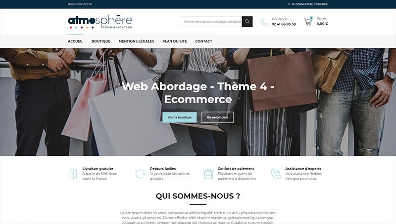 Web Abordage - Thème 4